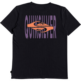 Quiksilver Either Way Maglietta a maniche corte Uomo, black
